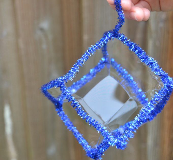 How to make a square bubble science sparks