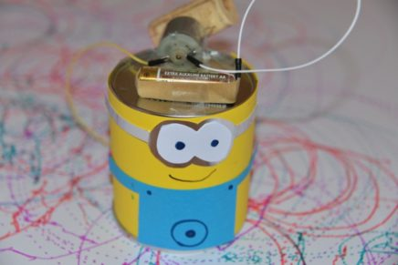 How to make a Minion Scribble Bot