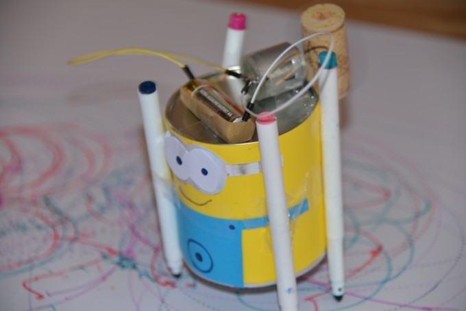 Minion Scribble Bot