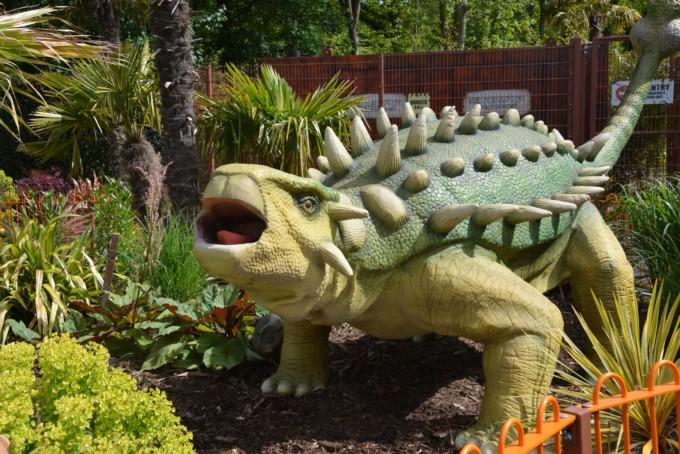 Dinosaurs Paultons Park