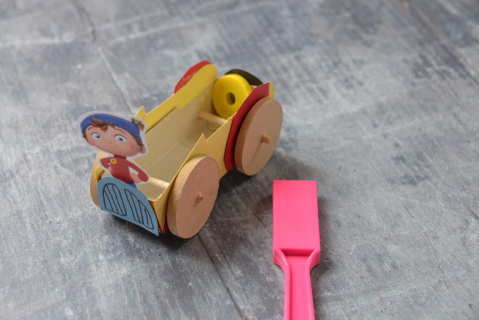 Magnet Powered Noddy car