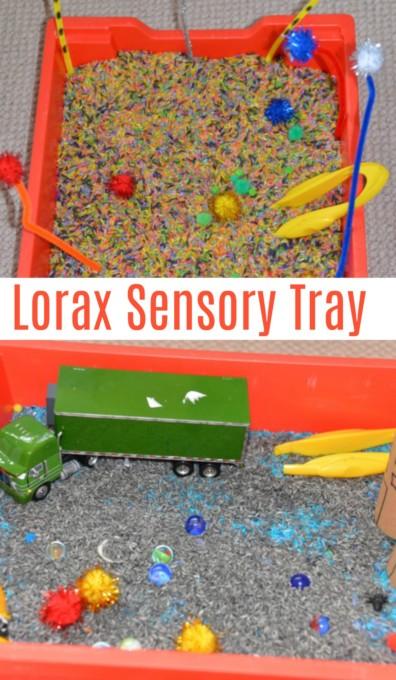 Lorax Sensory Tray