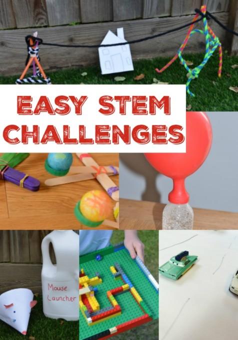 Easy STEM challenges