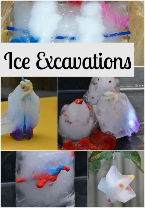 Ice Excavations Challenge 4 Science Sparks