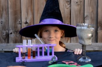 Witches laboratory