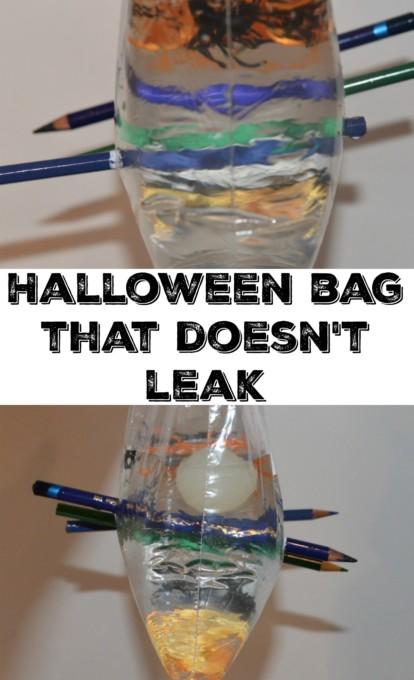 halloween bag that doesn't leak