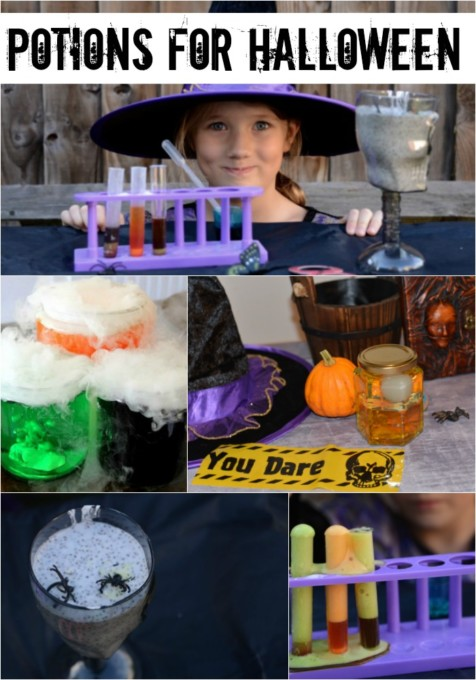 potions for Halloween
