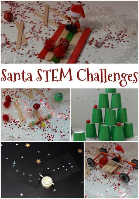 Santa-STEM-Challenges