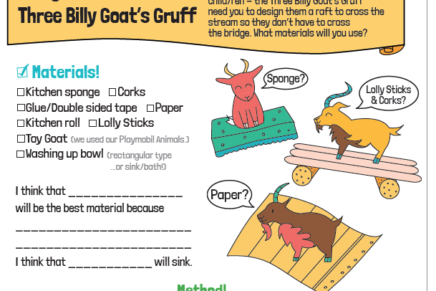 Fairy Tale Science Printables