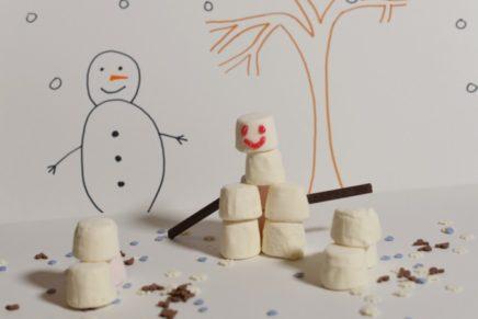 Build a Marshmallow Snowman