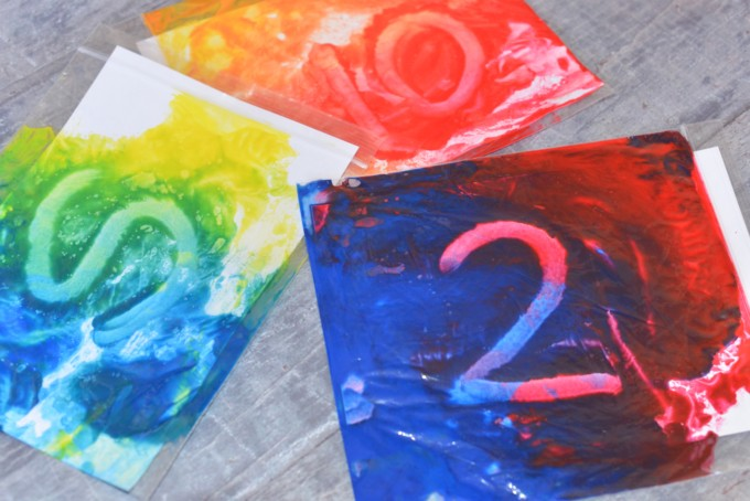 colour mixing ideas