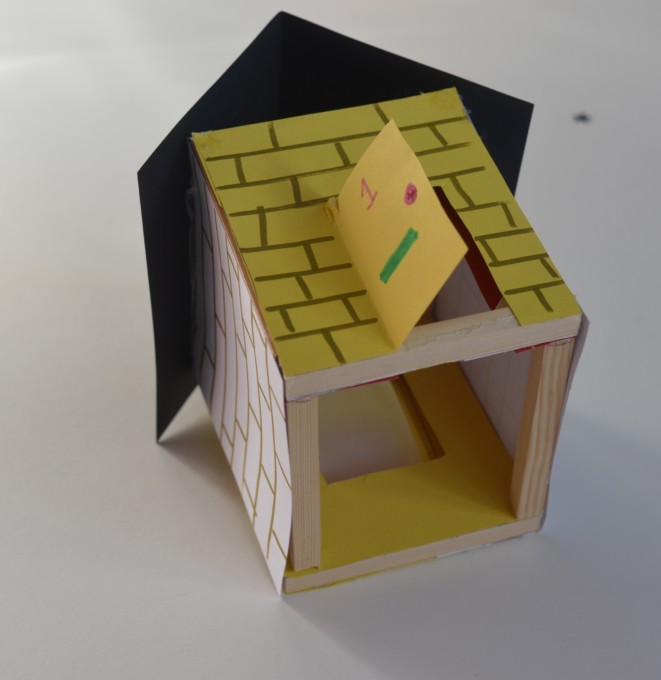 small house - wooden frame