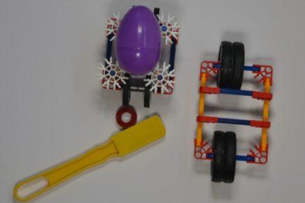 Magnet Powered Egg Cars