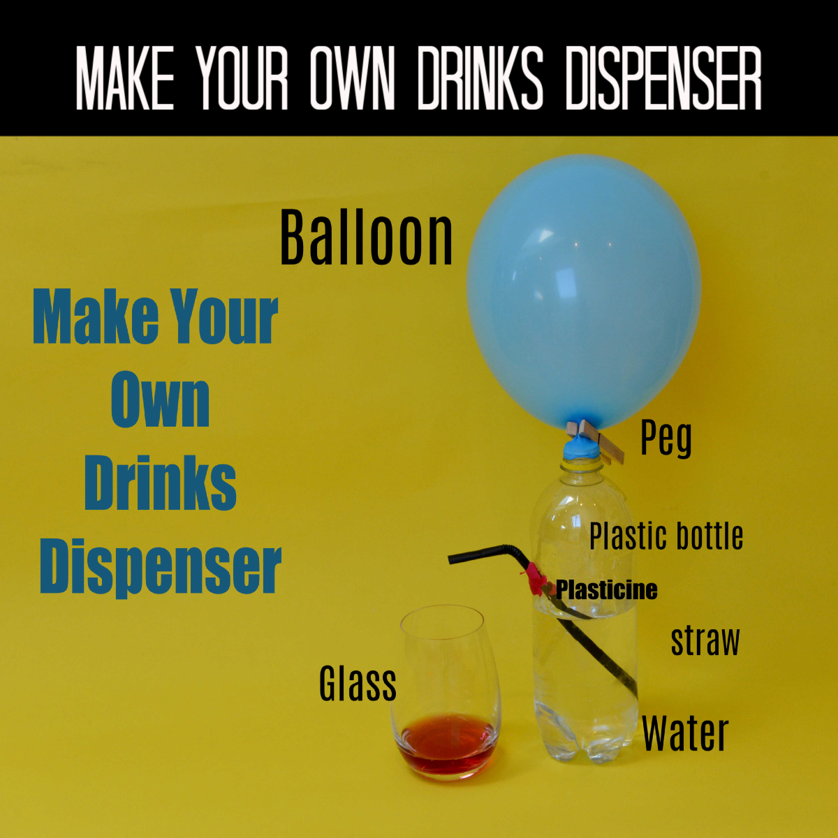 Make your own drinks dispenser