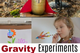 Gravity Experiments - science for kids