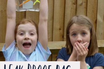 Leak proof bag science challenge