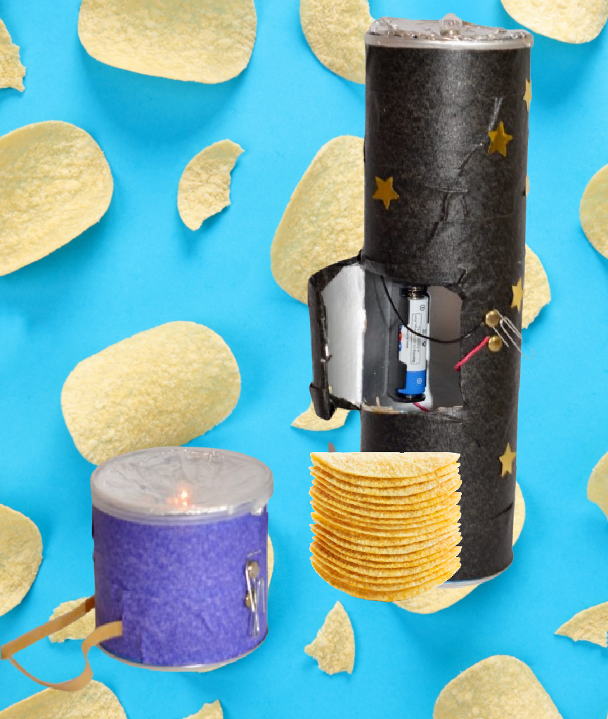 Pringles Can torches