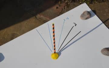 Simple sundial