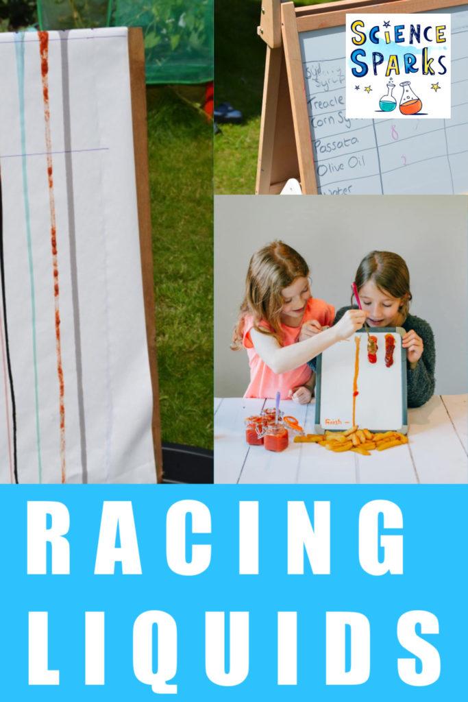 racing liquids experiment
