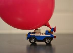 Balloon Powered LEGO Car
