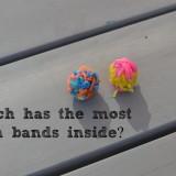 Loom band bouncy balls