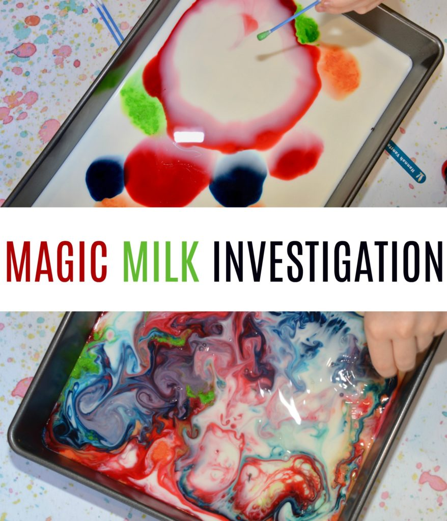 magic milk investigation