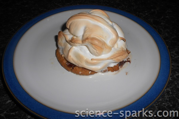 The science behind baked Alaska, Science Sparks