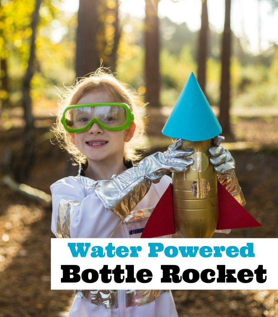 How to make a water powered bottle rocket
