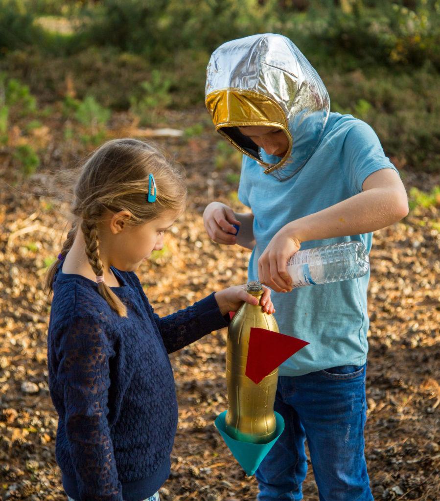 Water Bottle Rocket Science Project