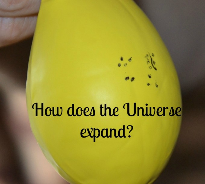 How does the universe expand