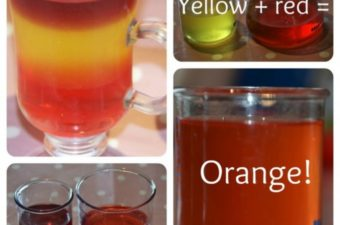 Jelly Science – changes of state and colour mixing