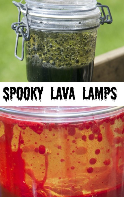 spooky lava lamps