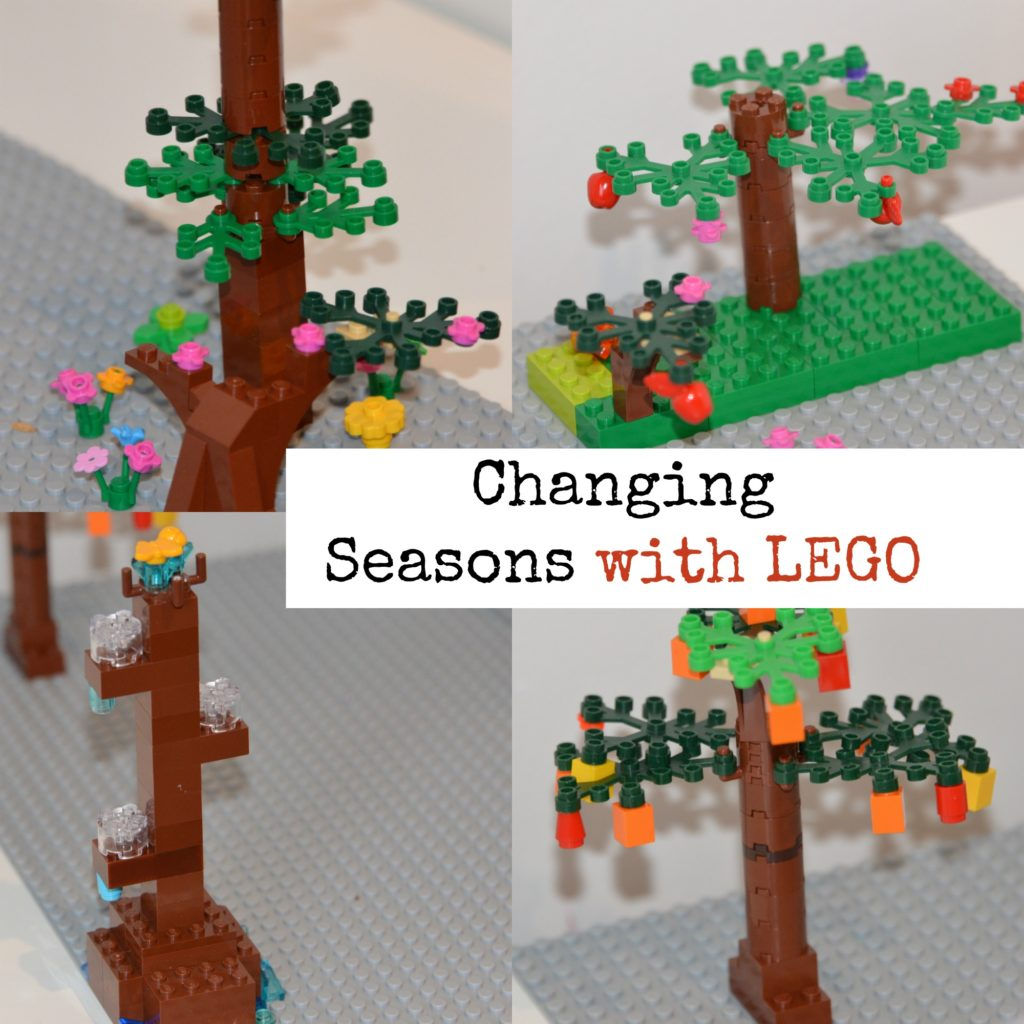 LEGO model of the seaons - LEGO science for kids