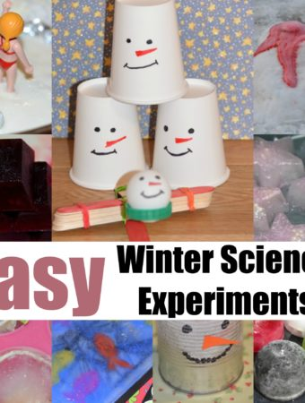 Easy winter science exepriments