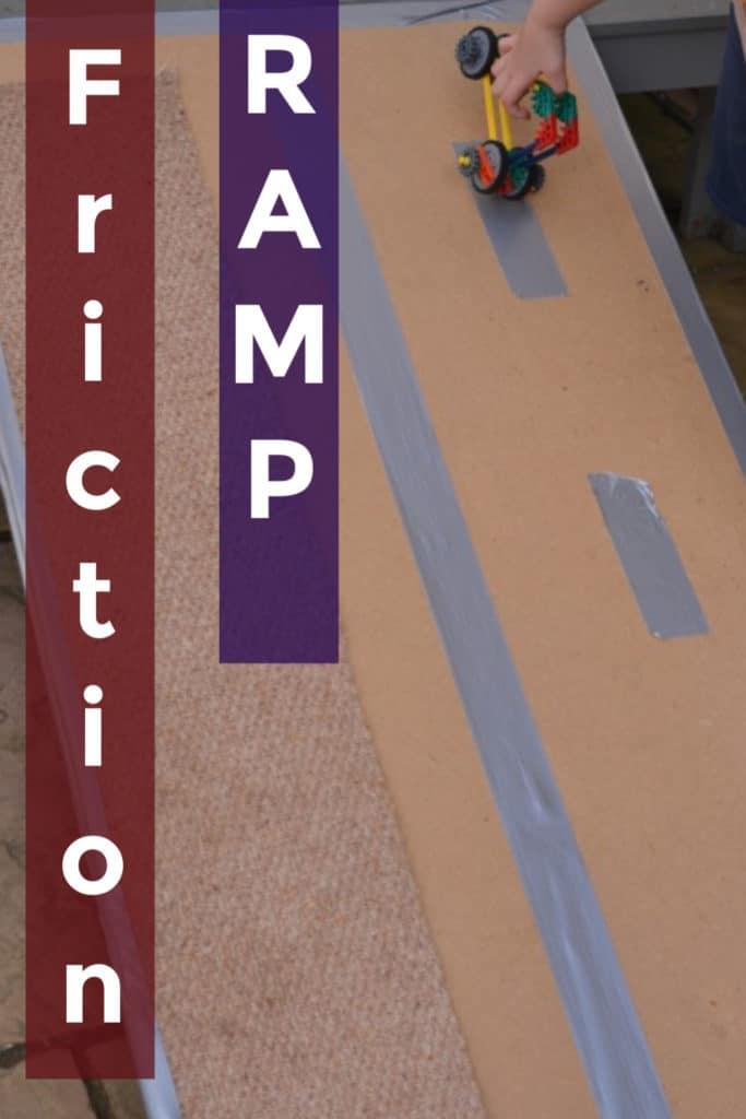 Homemade Friction Ramp -friction explained!!