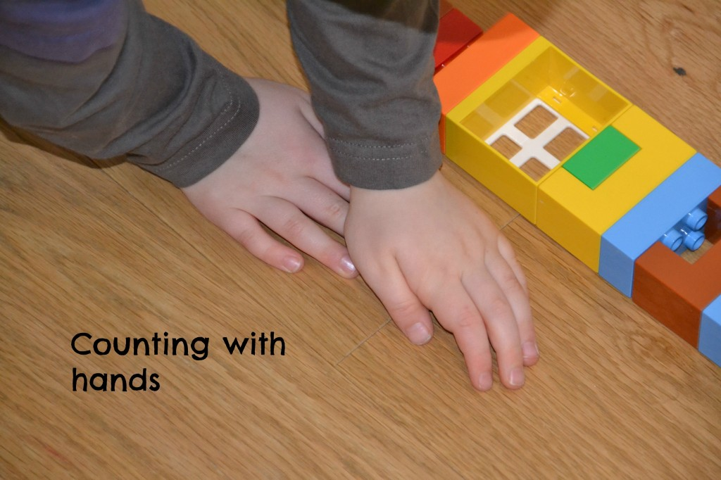 counting with hands