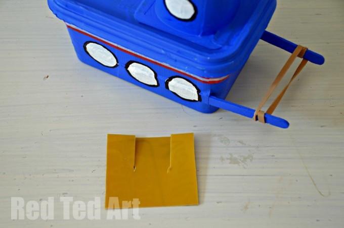 Make a tug boat