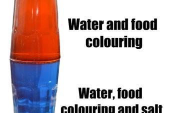 salt water density trick