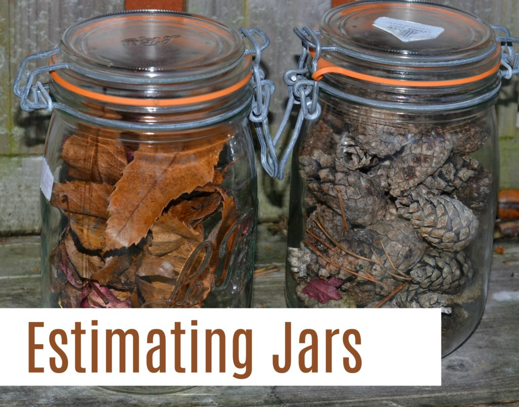 Autumn Estimating Jars