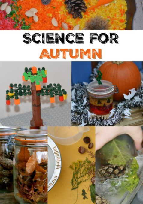 Science for Autumn - fun collection of autumn and fall science experiments for kids of all ages #autumnscience #fallscience #scienceforkids