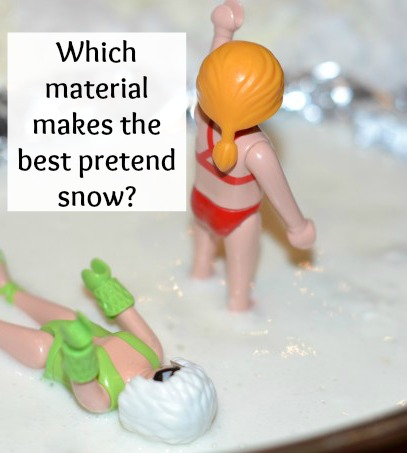 the best pretend snow