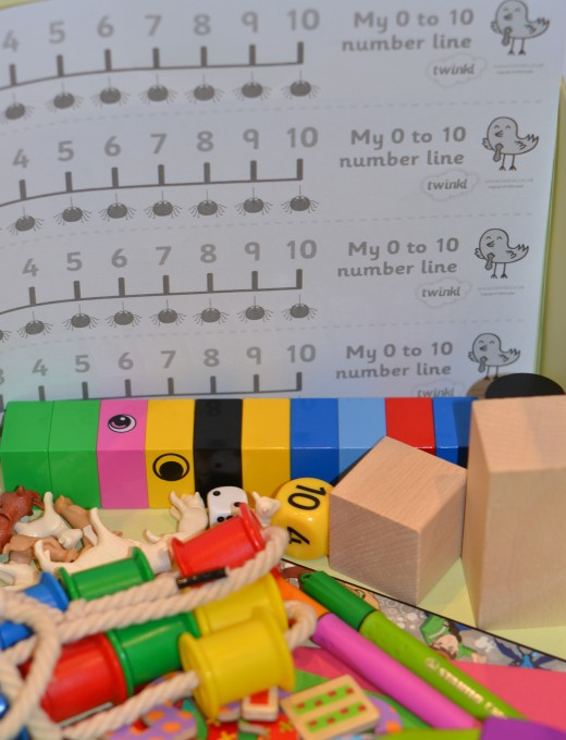 Science Experiments for 4 and 5 year olds - numeracy at home box