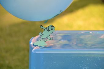 Jumping Frogs – a static electricity experiment
