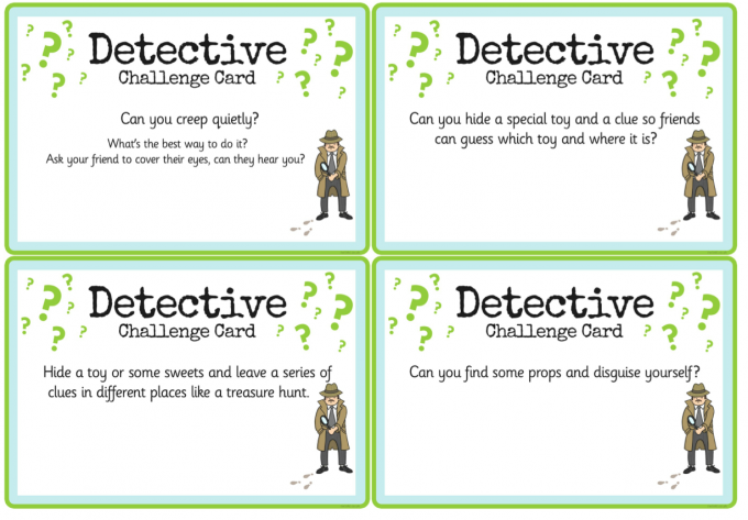 Detective Role Play