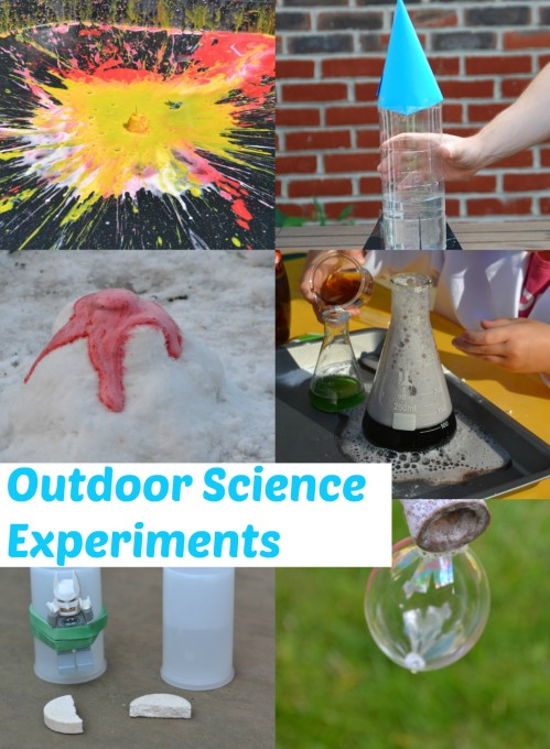 Outdoor Science Experiments