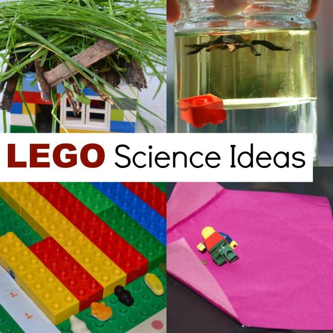 Science ideas using LEGO