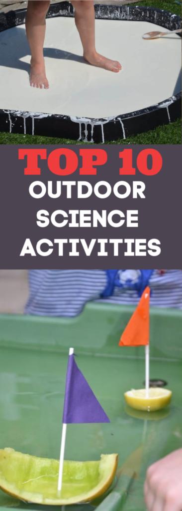 10 Outdoor Summer Science Activities Science Sparks