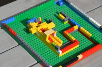 How to make a LEGO Maze
