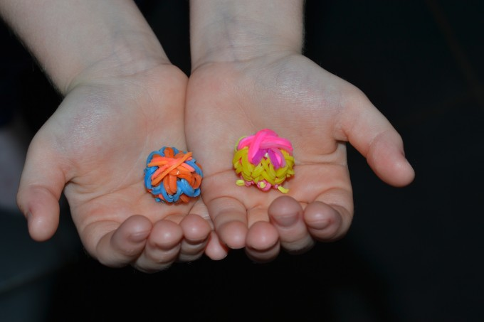 loom band bouncy balls