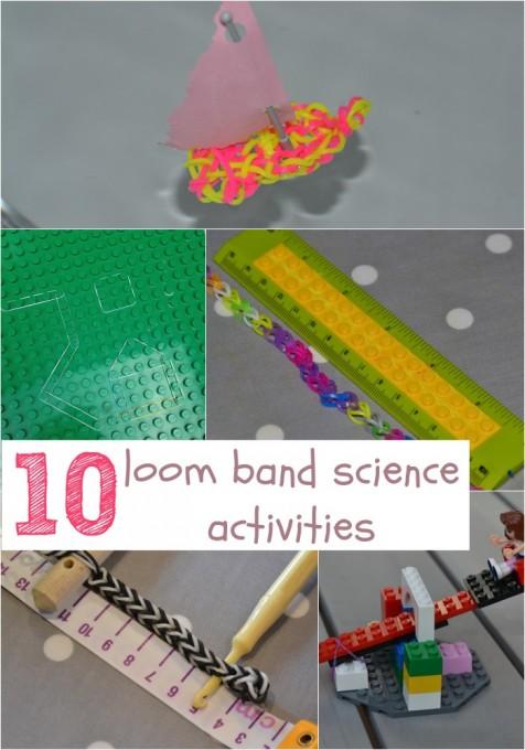 Loom band activity ideas